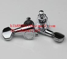 free shipping new right-hand electric guitar and left-hand guitar tuning peg  guitar button in chrome for one side LD