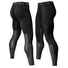 2018 Для мужчин работает колготки сжатия штаны для йоги Тренажерный зал Фитнес Леггинсы Тренировки Баскетбол поддерживающий пояс для плавания спортивные Костюмы UX55