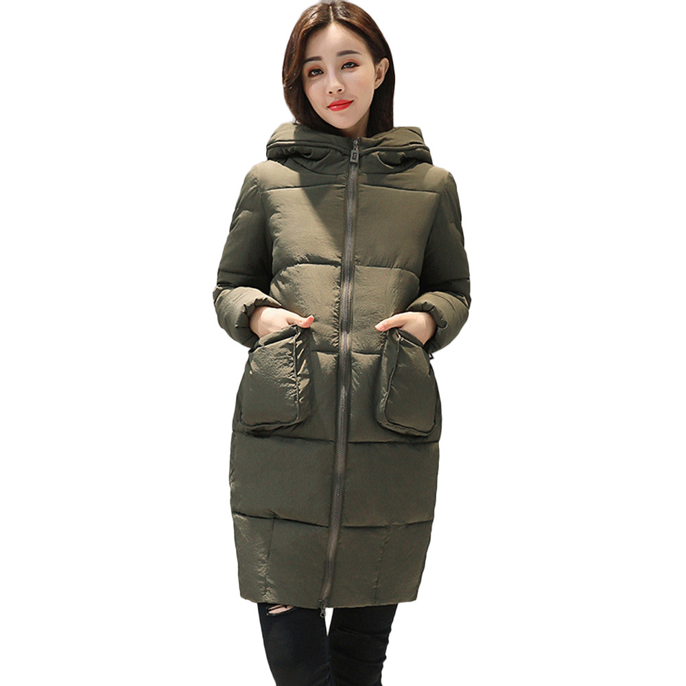 be6c8a7d6db warm winter jackets woman Warm Faux Fur Hooded Thick Warm Slim Jacket Long  Overcoat Coat woman parka winter 2018-in Parkas from Women s Clothing   ...
