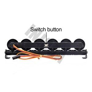 Image 3 - Barra de luz LED multifunción de 152MM para RC Crawler Traxxas TRX 4 TRX4 D90 Axial SCX10 90046