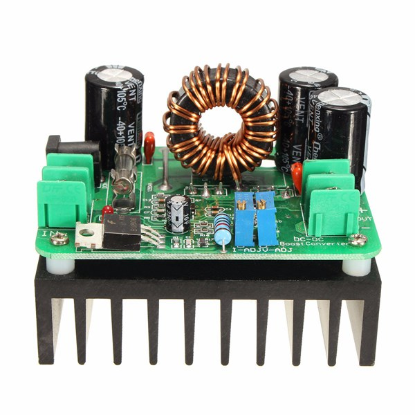Free Shipping DC-DC 600W 10-60V To 12-80V Boost Converter Step-up Module