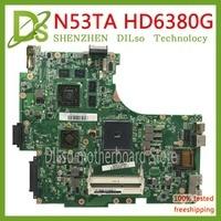 KEFU N53TA mainboard For ASUS N53T N53TA laptop motherboard HD6380M 1G video memory Test work 100% original