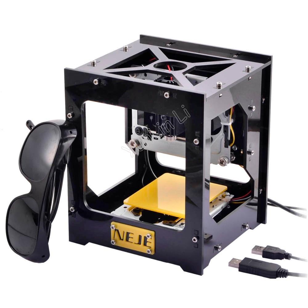 300MW Automatic DIY Laser Engraver Laser Cutter 5V Laser Engraving Machine USB Interface + Protect Glasses цена