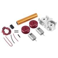 Worker Mod Modified Flywheel Update Kits Gun Accessories for Nerf Stryfe/Rapidstrike CS 18 Toy Straight Grain Power Type Red