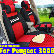 CARTAILOR custom fit cover seat car protector for peugeot 3008 seat covers