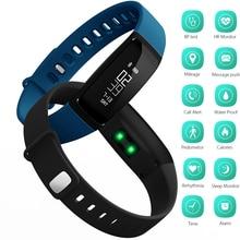 Smart Bluetooth Браслет Умный Браслет V07 Часы Кровяное Давление Монитор Сердечного ритма Шагомер Фитнес Tracker SMS Вызов Напоминание