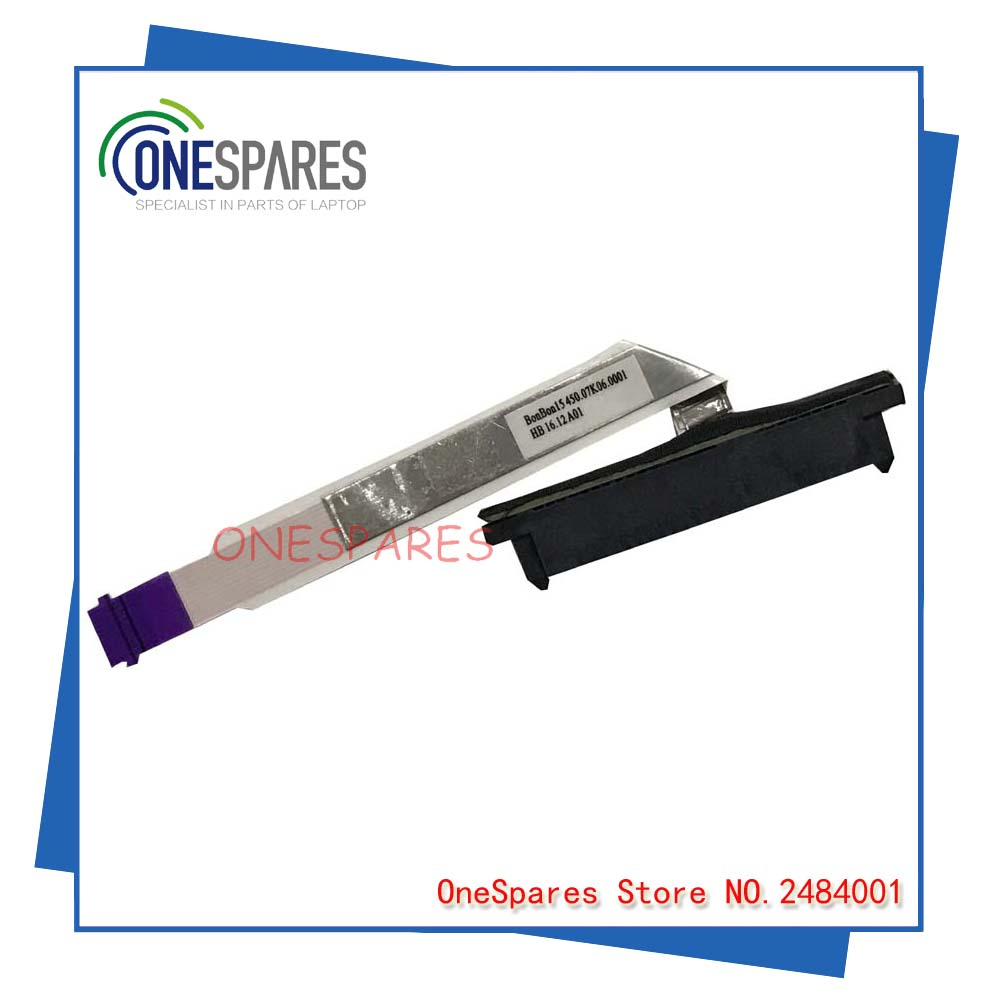 original New free shipping Laptop for HP M6-AR 450.07K06.0001 hard drive cable HDD connector test good
