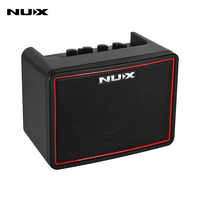 NUX Mighty Lite BT Mini Desktop Electric Guitar Amplifier 3W Amp 3 Channels Built-in Delay Reverb Effects 9 Drum Patterns Metronome