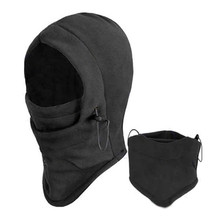 New Arrival Face Mask Thermal Fleece Balaclava Hood Swat Bike Wind Winter wind-proof and sand-proof Stopper Beanies CC0013(China)