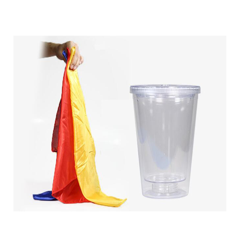 Appear Bottle From Silks Scarves Stage Magic Tricks Props Toys Professional Magician