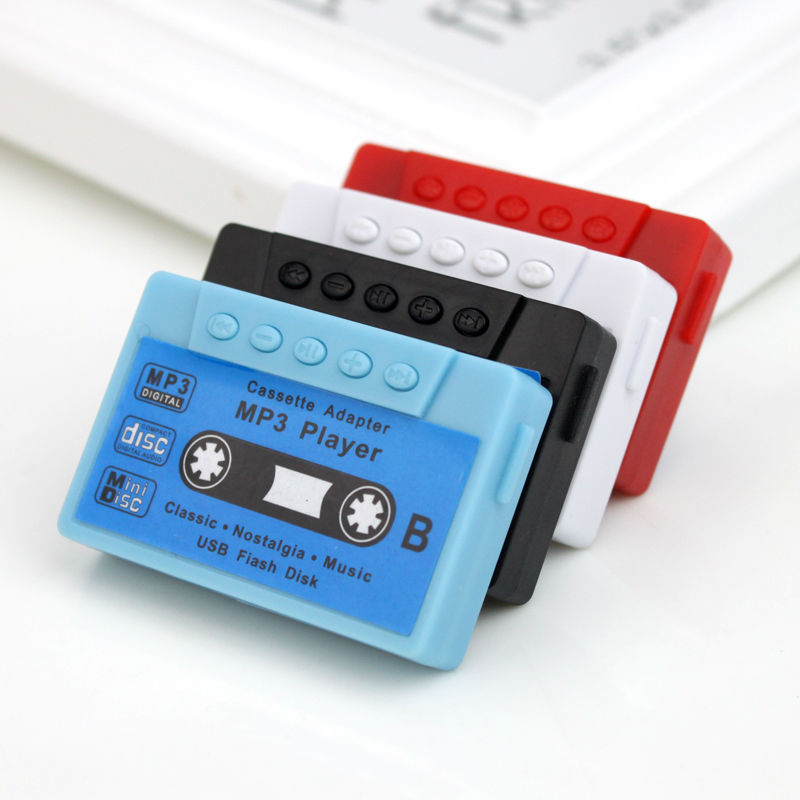 Hot Sell Gift Mini Mp3 Player Portable Music Player Support 32G Micro TF Card Slot (MP3 ONLY) Can Use As USB Flash Dish image