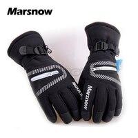 2016 New MARSNOW 808 Unisex Waterproof Microfiber Winter Ski Snow Gloves Motorcycle Snowboard Skate Skiing Gloves