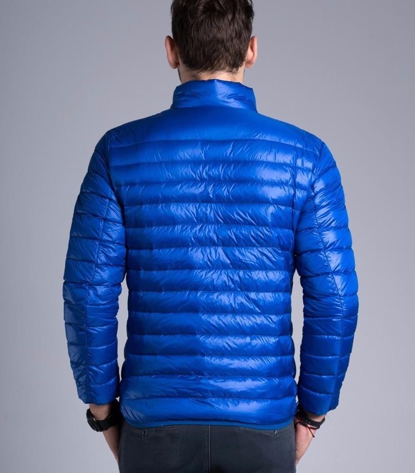 Men casual warm Jackets solid thin breathable Winter Jacket Mens outwear Coat Lightweight parka Plus size XXXL hombre jaqueta 15