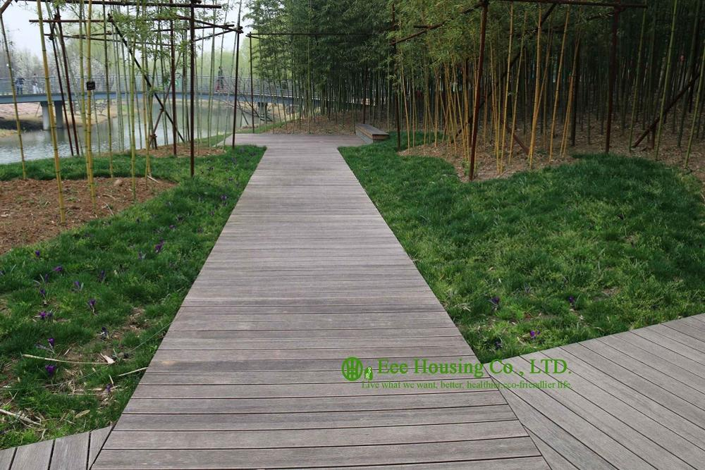 Bamboo Outdoor Flooring / Bamboo Decking Prices / Non-slip Decking For Sale