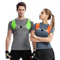LumiParty Bicycle Safety LED Light Warning Sports cycling Vest USB Charging Riding Vest for Outdoors Night Running Walking