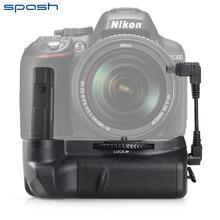 SPASH Multi-power Vertical Battery Grip for NIKON D5300 D5200 D5100 Cameras Battery Handgrip Pack Holder Work with EN-EL14