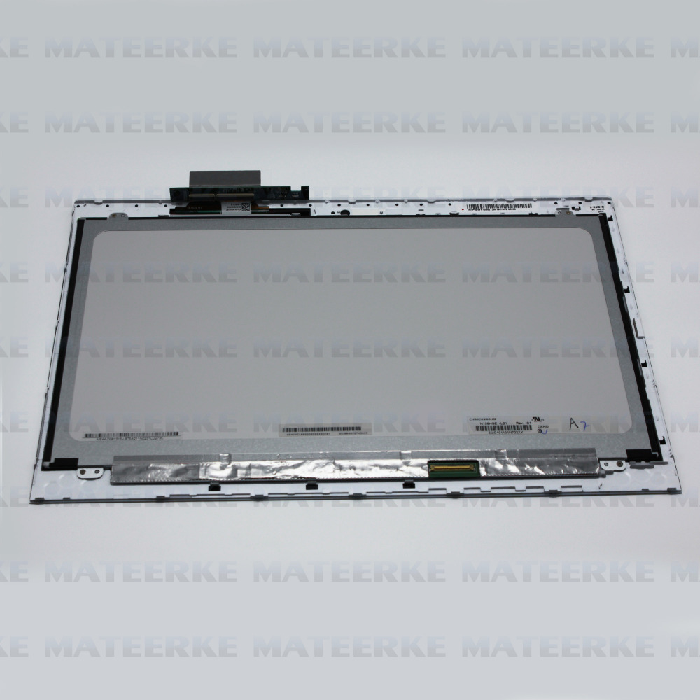 LCD Screen Assembly Touch Digitizer + Bezel For Sony VAIO T15 SVT15 SVT15115CXS,Free Shipping new 11 6 for sony vaio pro 11 touch screen digitizer assembly lcd vvx11f009g10g00 1920 1080