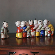 Jingdezhen ceramic sculpture crafts jewelry creative Home Furnishing new Chinese living room decoration