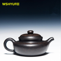 New 1PCS High Quality Authentic Yixing Teapot Master Handmade Chinese Health Purple Clay KungFu Tea Set
