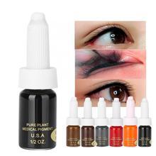 Permanent Makeup Pigments Eyebrow-Eyeliner Microblading Natural Long-Lasting Plant-Lip