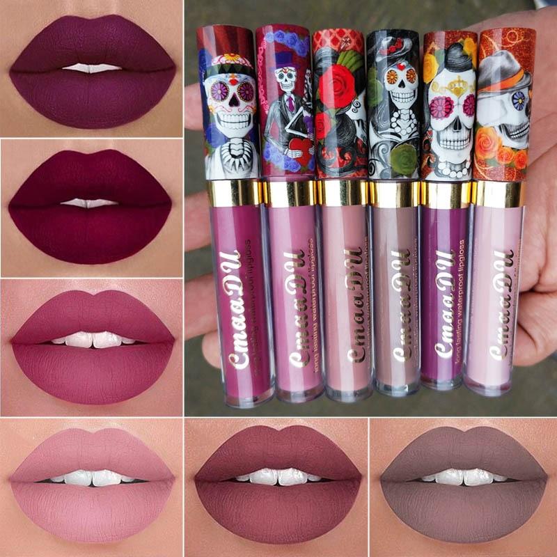 BABIGZ Matte Lipstick Nude Color Waterproof Long Lasting