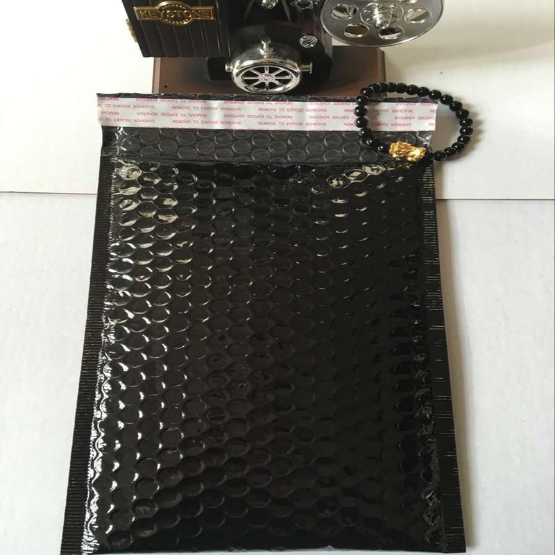 16 * 22,5cm (6,3x8,86 inča) 20pcs Crna podstavna omotnica Metalni - Za blagdane i zabave - Foto 2