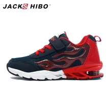 JACKSHIBO Kids Sneakers Autumn Trainers for Boys Children Running Spring Heel Boy Shoes