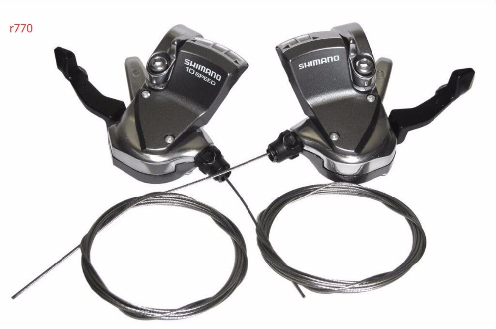 Shimano r770 SL-R770 Road Shifters 2x10 speed for Dura Ace Ultegra 105 7900/6700/5700 кассета shimano dura ace 11 30 11 ск