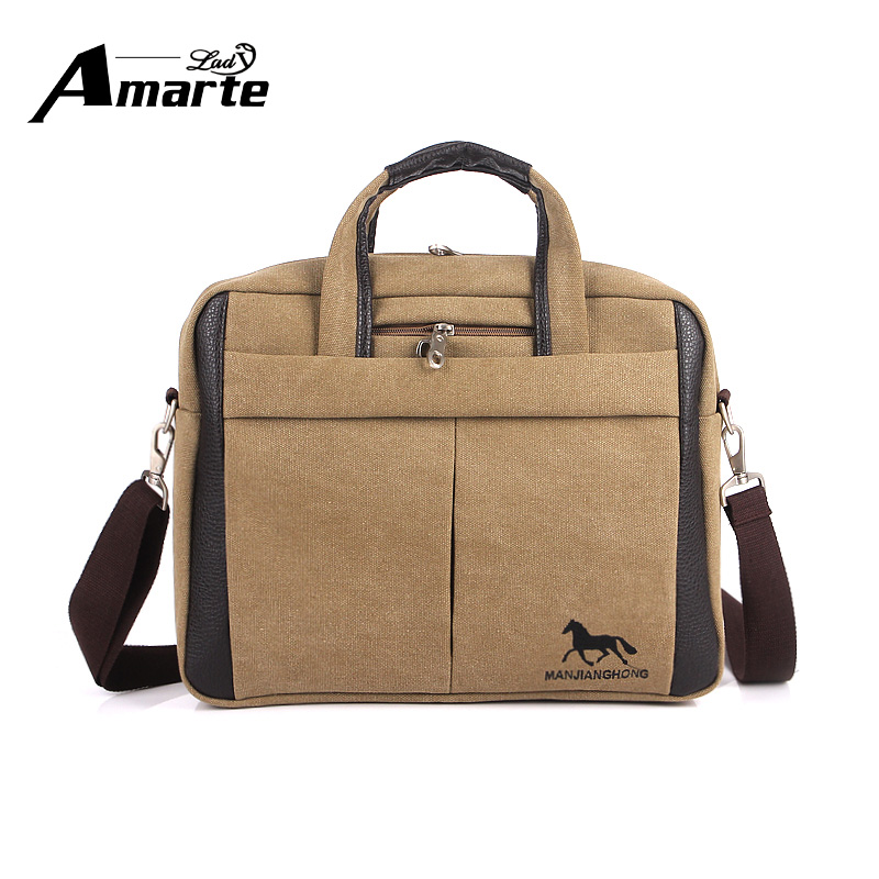 ФОТО Men Crossbody Shoulder bag Canvas Casual Handbag Men's Fashion Designer Shoulder High Quality Bag