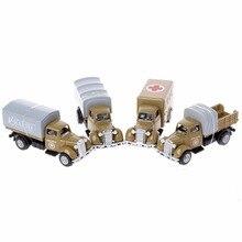 Рабочий грузовик, винтажная модель автомобилей, детская игра, Игрушечная машина, ролевая игра