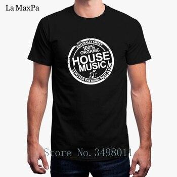 Envío Gratis Ohouse House música camiseta para hombres verano cuello redondo Camiseta Hombre básico sólido camiseta para hombre 2018 Homme