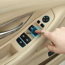 Внутренняя ручка двери левая передняя дверь внутренняя панель водителя сиденья Кнопка Подъема Окна панель управления для BMW 5 серии F10 F11 F18
