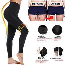 Miss Moly Leggings Women Sculpting Sleep Leg Legging High Waist Skinny Pants Slimming  Leggings Thigh Slimmer Pants