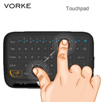 H18 Full Touchpad Mini Wireless Touch Keyboard 2 4GHz Air Mouse For TV Box Pad IPTV