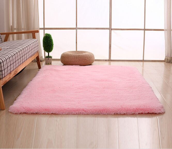 modern velvet mat Living room rectangular Sofa bedside carpet ...