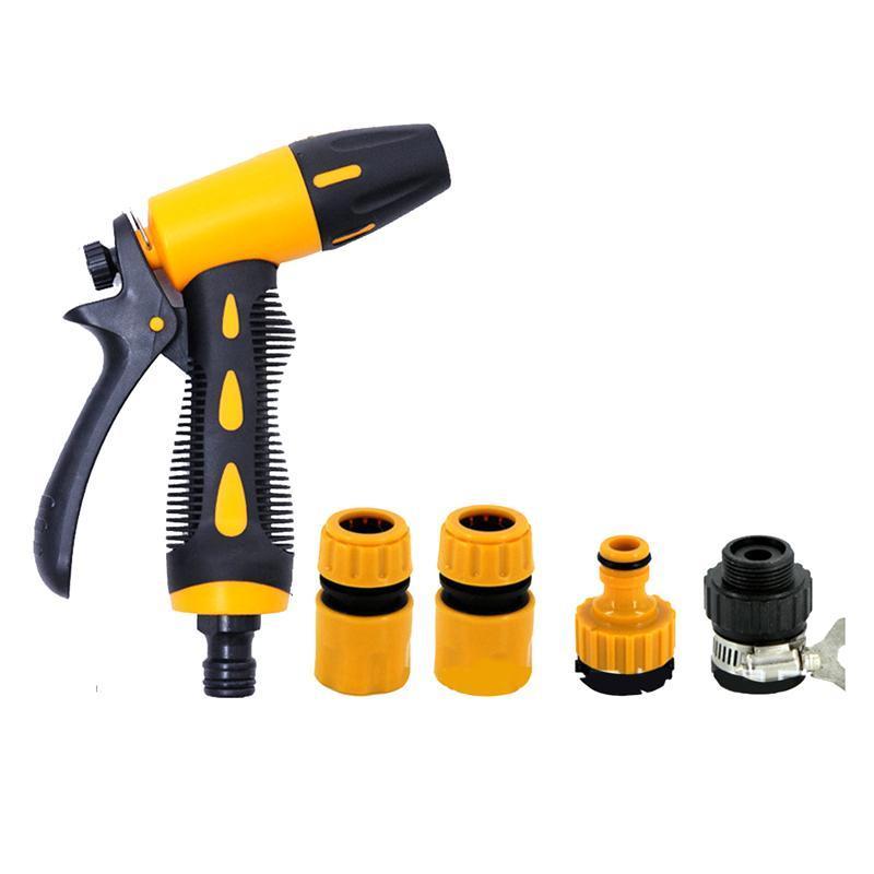 Winomo Hose Spray Nozzle High Pressure Heavy Duty Adjustable Hand