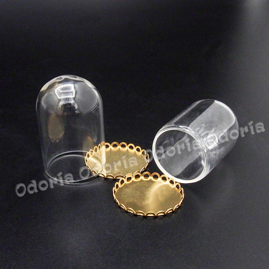Bandeja De Metal Escala 1:12 y cúpula casas de Muñecas Miniatura Accesorios