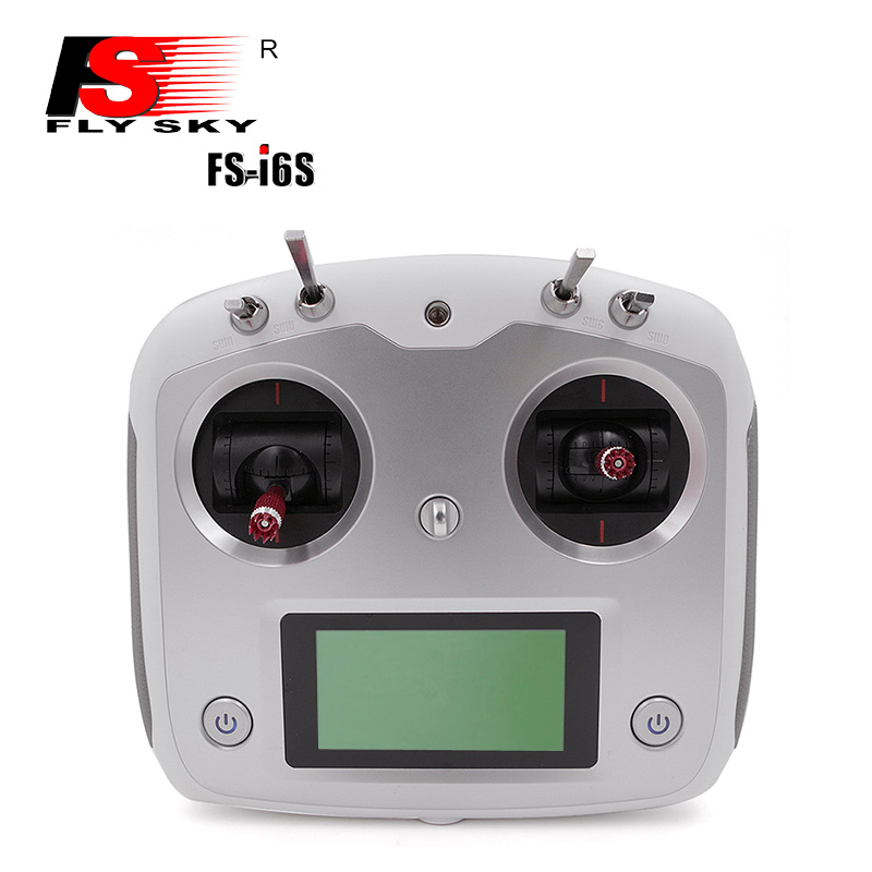 Flysky FS-i6s 10CH 2.4G Transmitter with FS-iA6B Receiver Remote Controller for RC Airplane Quadcopter Multirotor Drone 1set flysky fs i6s remote controller fs i6s 2 4g 6ch radio transmitter ia6b receiver for rc quadcopter multirotor drone
