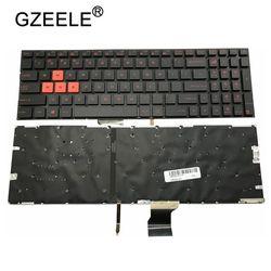 GZEELE US podświetlenie do laptopa klawiatura do ASUS GL502 GL502V GL502VT GL502VS GL502VM GL502VY podświetlany w usa standardowy angielski standardowe układ|Zamienne klawiatury|   -