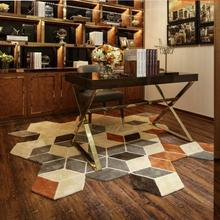 Фигурные ковры и ковры для гостиной, коврики ручной работы, акриловые, европейские, современные, для спальни, журнальный столик, диван, комната