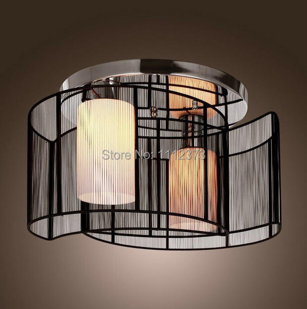 Semi Flush Mount Chandelier Modern Fixture For Hallway Dining Room Living Lights