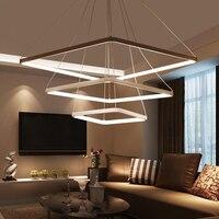Modern LED Pendant Lights Hanging Lamp For Living Room Aluminum AC90 260V LED Pendant Lighting Dimmable