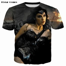 Assorted Styles T shirt Wonder Woman Movie 2017 T-shirts Diana Prince 3d print Men Women