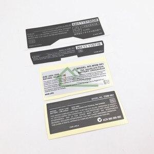 Image 3 - Cho GBA/GBA SP/GBC Tay Cầm Chơi Game Mới Lables Lưng Miếng Dán thay thế cho Gameboy Advance/SP/ màu sắc