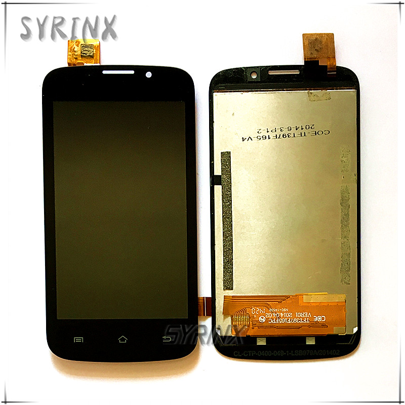 Syrinx Touch+<font><b>LCD</b></font> Screen Display Assembly For Explay JOY TV Touchscreen Sensor Glass Free Shipping