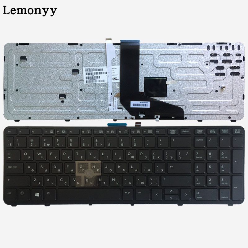 NEW Russian laptop keyboard FOR HP for ZBOOK 15 17 G1 G2 PK130TK1A00 SK7123BL with backlight/Pointer 733688 001-in Replacement Keyboards from Computer & Office on
