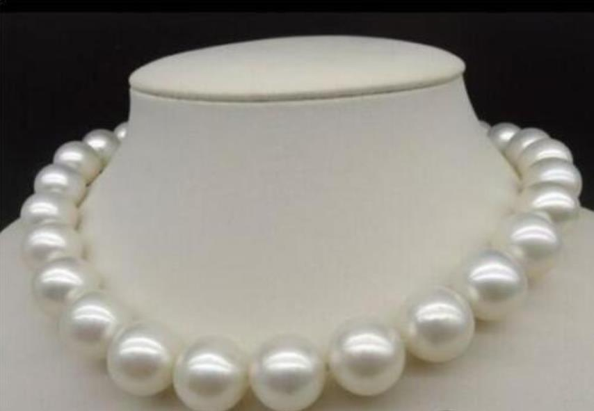 NEW 18 11-12MM REAY WHITE south sea PEARL NECKLACENEW 18 11-12MM REAY WHITE south sea PEARL NECKLACE