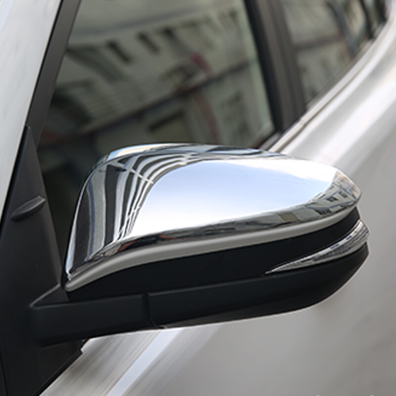 For TOYOTA NOAH VOXY Accessories 2014 2015 2016 2017 car Styling ABS Chrome Car Rearview mirror decoration strip Cover Trim|Chromium Styling|Automobiles & Motorcycles - title=
