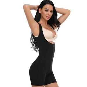 Image 3 - אופנה נשים Colombianas הודעה ניתוח מלא גוף Shaper גוף חליפת Powernet מחוך מותן Cincher מאמן Shapewear