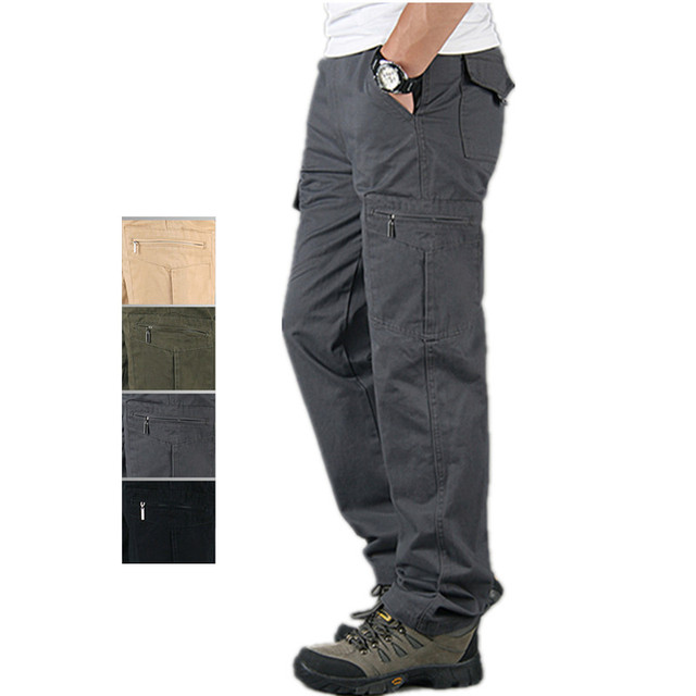clearance great deals on fashion best loved US $24.46 49% OFF|Aliexpress.com : Buy Spring Summer Mens Army Military  Pants Cotton Lightweight Multi Pocket Militar Tactical Cargo Pants Joggers  ...